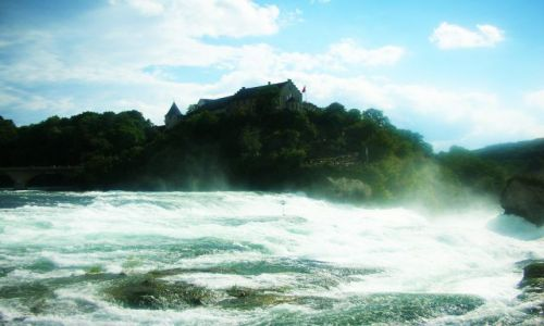 Zdjęcie SZWAJCARIA / -kanton aagau / neuhausen / najwiekszy wodospad w europie