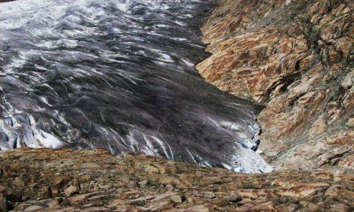 Zdjęcie SZWAJCARIA / Alpy szwajc. / Aletschgletscher / z gorki