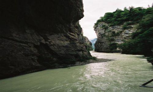 Zdj�cie SZWAJCARIA / Interlaken / Aareschlucht / Prze�om rzeki Aare