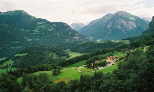 Zdj�cie SZWAJCARIA / Walis / Andermatt / Dolina szwajcarska