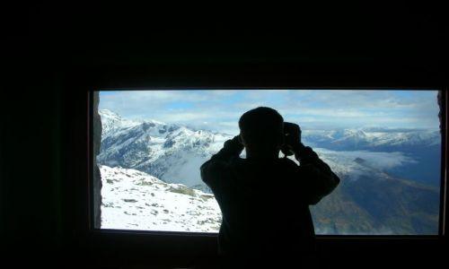 Zdjecie SZWAJCARIA / Alpy szwajc. / eggishorn / widok ze schroniska