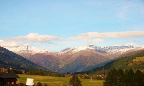 Zdjecie SZWAJCARIA / Alpy szwajc. / fiesch / w drodze powrotnej
