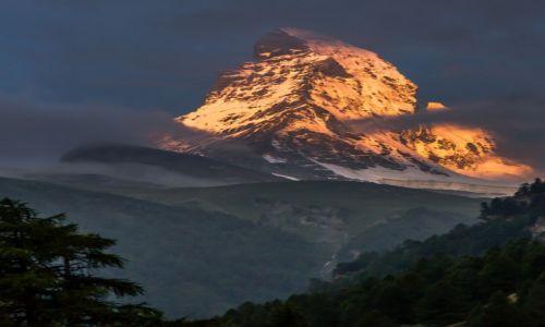 Zdj�cie SZWAJCARIA / Valais / Zermatt / G�ra Przeznaczenia