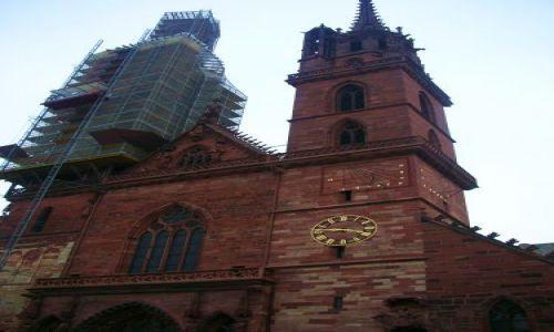Zdjecie SZWAJCARIA / brak / basel / czesc katedry