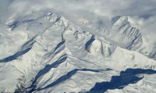Zdjęcie SZWAJCARIA / Alpy / Alpy / Alpy z lotu ptaka