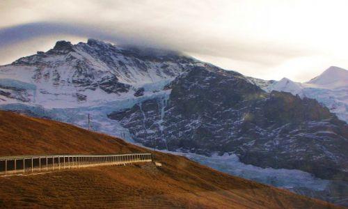 Zdjecie SZWAJCARIA / Alpy szwajc. / za griendelwald / w drodze na jungfraujoch