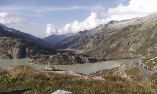 Zdjecie SZWAJCARIA / Alpy Bernińskie / Grimselpass / Przełęcz