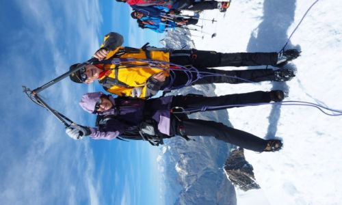 Zdj�cie SZWAJCARIA / Zermatt / Breithorn / Alpy-Breithorn