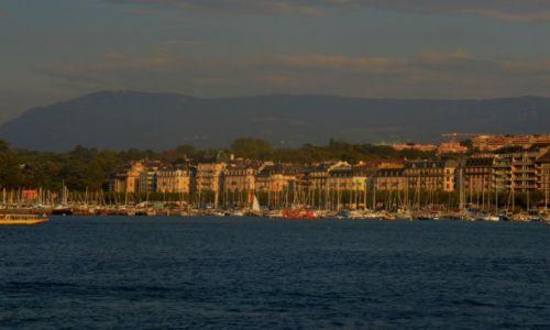 Zdjęcie SZWAJCARIA / Szwajcaria / Genewa / Jezioro genewskie