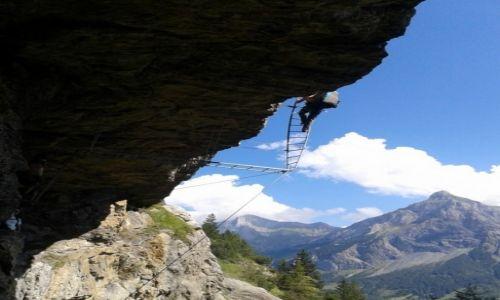Zdjecie SZWAJCARIA / Alpy Szwajcarskie / Gadmen / na drodze bez g