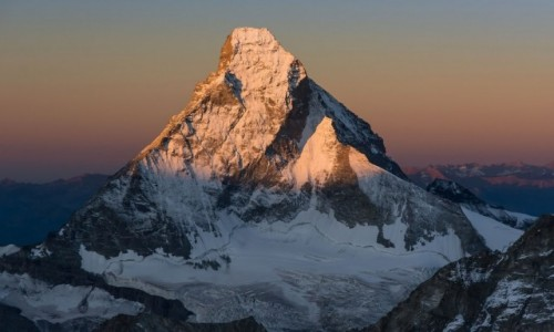 Zdj�cie SZWAJCARIA / Alpy Walijskie / Zermatt / Sunrise