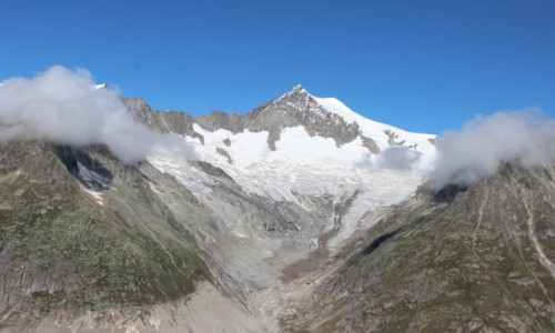 Zdjecie SZWAJCARIA / - / Szwajcaria, lodowiec Aletschgletscher / Lodowiec