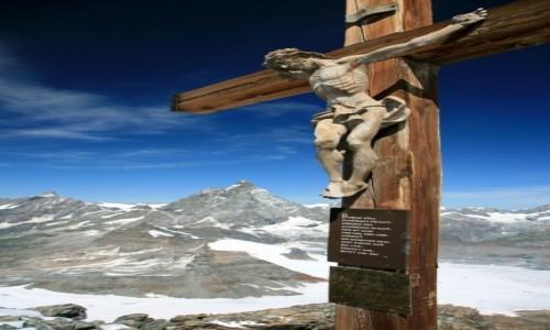 Zdjecie SZWAJCARIA / Valais / Klein Matterhorn / ... nieba i zie