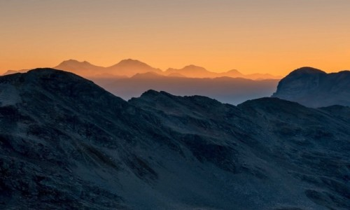 Zdjecie SZWAJCARIA / Alpy / Alpy / świt