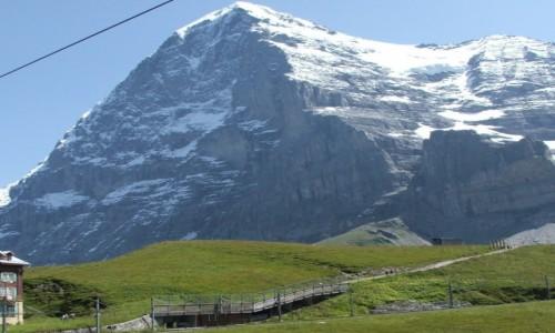 Zdjecie SZWAJCARIA / Alpy Berneńskie / Eiger (3970 m. npm) / Po drodze na pr