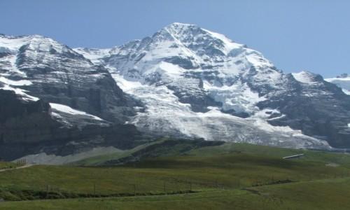 SZWAJCARIA / Alpy Berneńskie / Mönch (4107 m. npm) / Po drodze na przełęcz Jungfraujoch