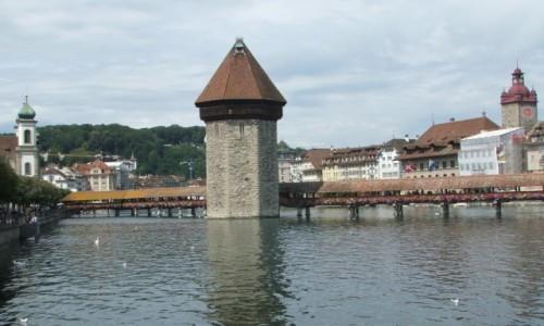 Zdjęcie SZWAJCARIA / Kanton Lucerna / Lucerna / Kapliczny Most