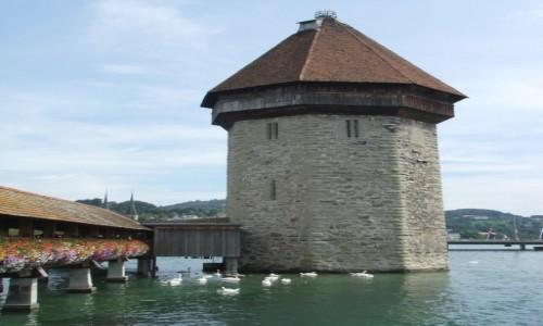 Zdjecie SZWAJCARIA / Kanton Lucerna / Lucerna / Wieża Wodna