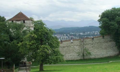 Zdjęcie SZWAJCARIA / Kanton Lucerna / Lucerna / Mury miejskie