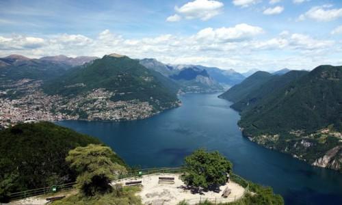 Zdjęcie SZWAJCARIA / Lugano / Monte San Salvatore / Panorama