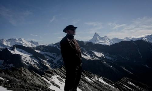 Zdjecie SZWAJCARIA / - / najpiękniejsza dolina / Alpy o zachodzie słońca