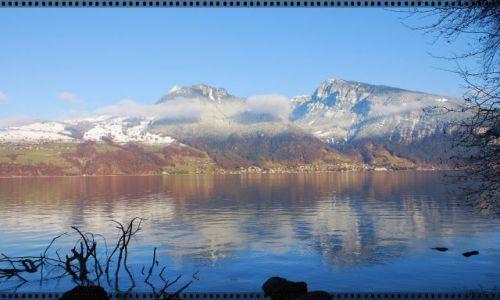 Zdjęcie SZWAJCARIA / kanton bern / thun / alpejski widok