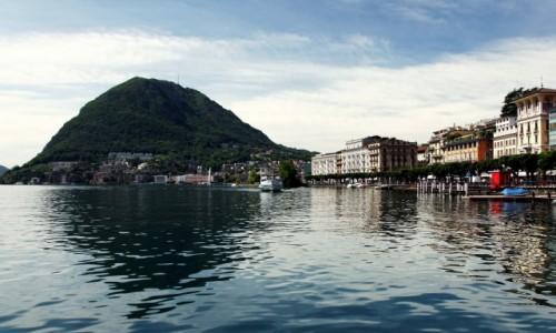 Zdjecie SZWAJCARIA / Ticino  / Lugano /  Widok na Monte San Salvatore
