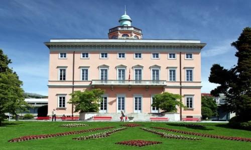 Zdjecie SZWAJCARIA / Lugano / Parco Ciani / Pałacyk