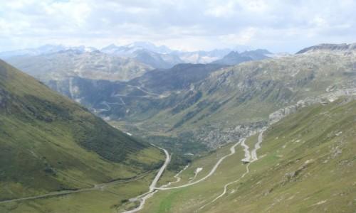 Zdjecie SZWAJCARIA / Furkapass / przełęcz  / przełęcz Furka
