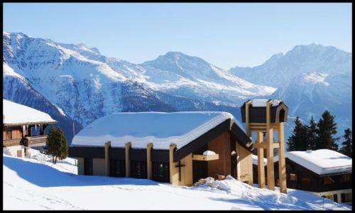 Zdjecie SZWAJCARIA / wallis / Riederalp / alpejski widok