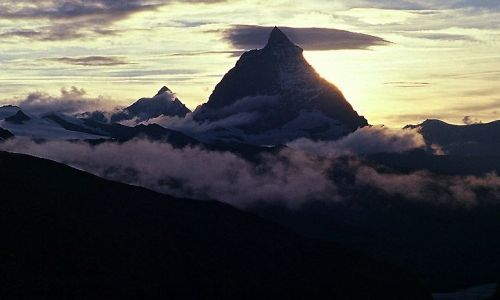 Zdjecie SZWAJCARIA / Zermat / Matterhorn / Symbol Alp