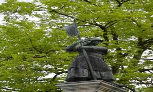 Zdjecie SZWAJCARIA / pólnocny wschód Szwajcarii / Zurich / Rzeźba Helwecji