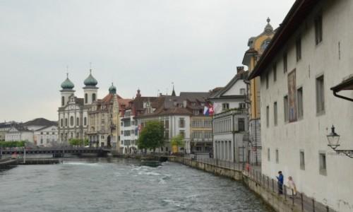 Zdjecie SZWAJCARIA / kanton Lucerna / na brzegu jeziora Czterech Kantonów / Lucerna z trochę innej strony