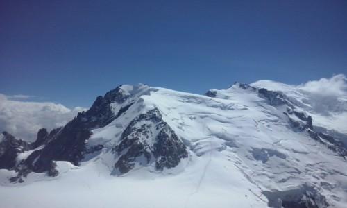 Zdjecie SZWAJCARIA / Alpy / Alpy / Mont Blanc