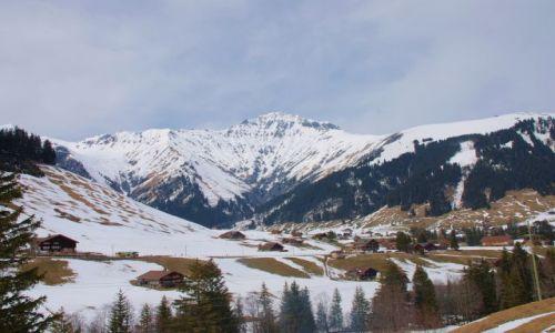 Zdjęcie SZWAJCARIA / kanton bern / adelboden / znöw alpy