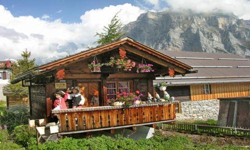 Zdjecie SZWAJCARIA / Alpy / Interlaken / Domek Baby Jagi