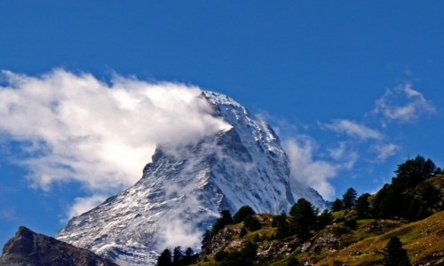SZWAJCARIA / Visp / Zermatt / Matterhorn