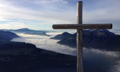 Zdjecie SZWAJCARIA / Fronalpstock / Stoos / Szwajcarski fjord ;)