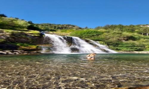 SZWAJCARIA / Ticino  / Faido / Waterfall