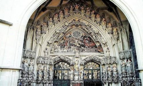 Zdjecie SZWAJCARIA / Berno / Katedra / PORTAL Katedry w Bernie. Szwajcaria