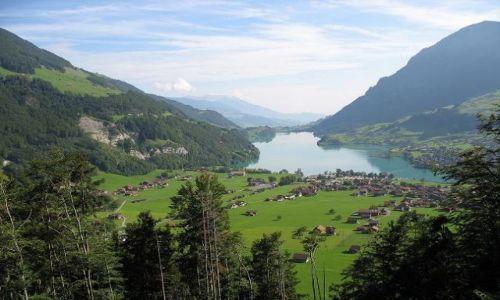 Zdjecie SZWAJCARIA / Alpy Berneńskie  / Grindelwald / W drodze do Montreux