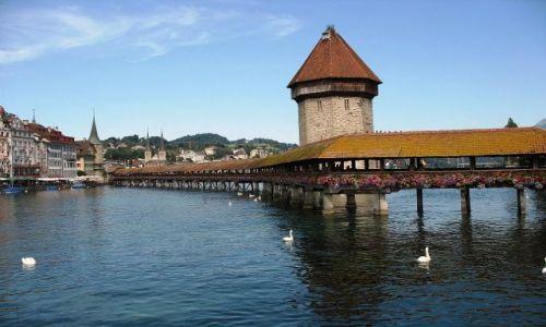 Zdjecie SZWAJCARIA / Kanton Lucerna / Lucerna / Kapellbrücke