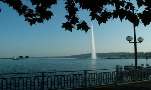 Zdjecie SZWAJCARIA / brak / Genewa / Jezioro Genewsk