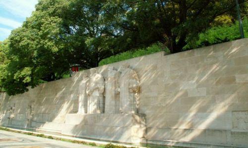 Zdjecie SZWAJCARIA / brak / Genewa / Pomnik reformacji -  między innymi  Kalwin