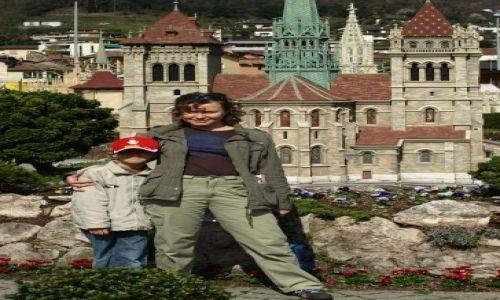 Zdjecie SZWAJCARIA / Lugano / Park miniatur / jedyne z moją osobą tego dnia