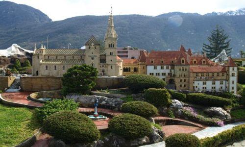 Zdjecie SZWAJCARIA / Lugano  / Park miniatur / zamek dla Bari