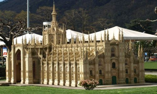 Zdjecie SZWAJCARIA / Lugano  / Park miniatur / Duomo?