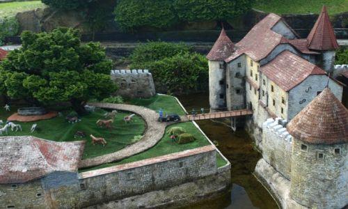 Zdjecie SZWAJCARIA / Lugano / swiss miniatur / dawne czasy....