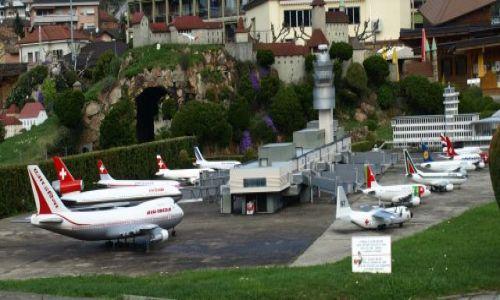 Zdjecie SZWAJCARIA / Lugano / swiss miniatur / lotnisko......