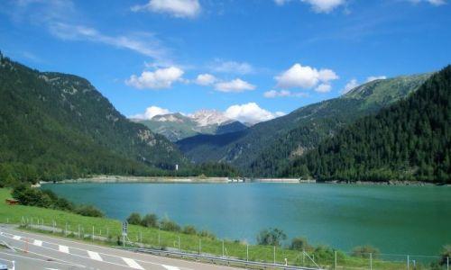 Zdjecie SZWAJCARIA / Zurich / E43 / górskie jezioro